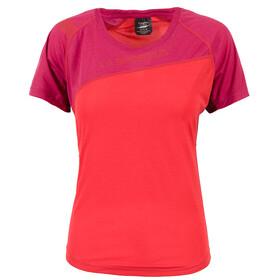La Sportiva Catch Koszulka Kobiety, garnet/beet